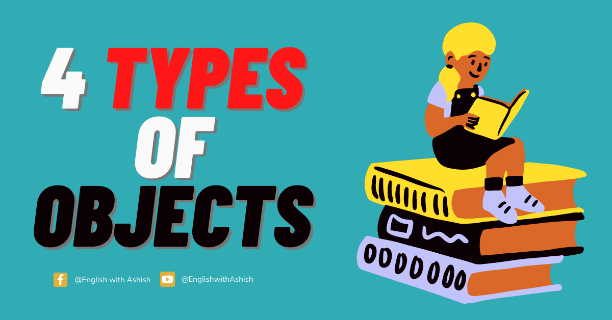 4 types of objects in English