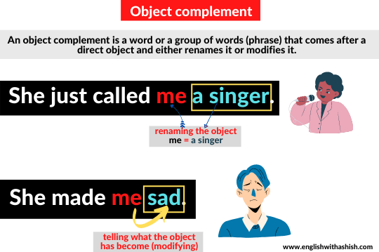Object complement explanation