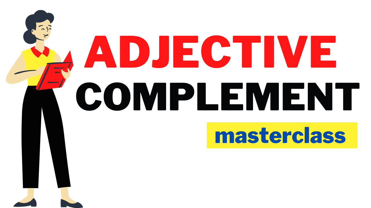 Adjective complement